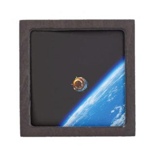 Satélite en la órbita 2 caja de regalo de calidad