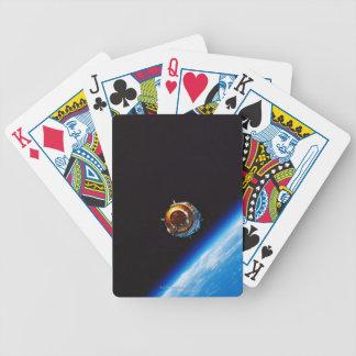 Satélite en la órbita 2 cartas de juego