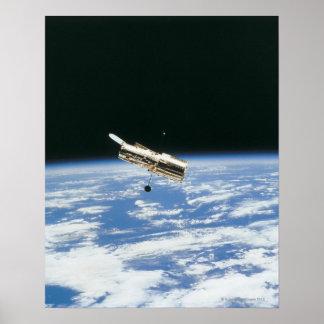 Satélite en la órbita 3 posters