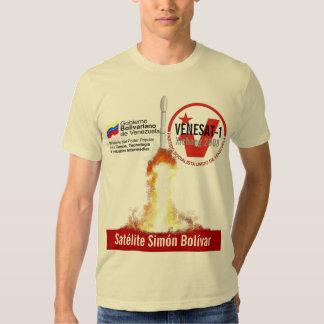 Satélite Simón Bolívar T Shirt