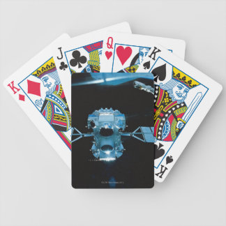Satellite 2 bicycle playing cards