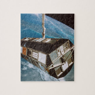 Satellite above Earth Jigsaw Puzzle