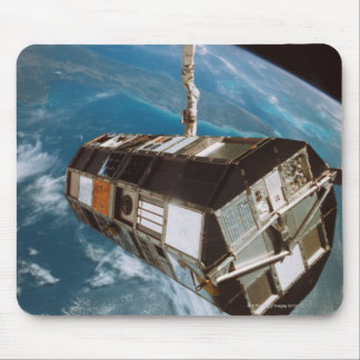 Satellite above Earth Mouse Pad