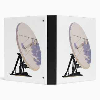 Satellite Dish 3 Ring Binder