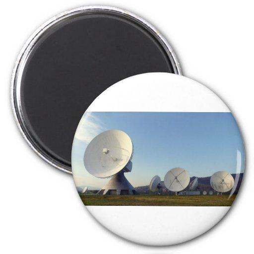 Satellite Dish Fridge Magnets
