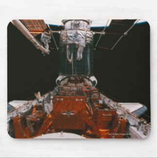 Satellite Docked Mouse Pad