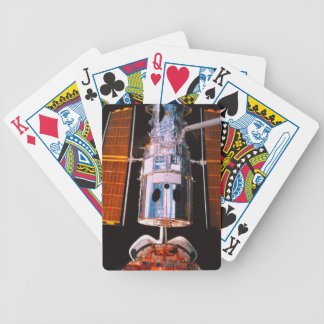 Satellite Docked on Space Shuttle Bicycle Playing Cards