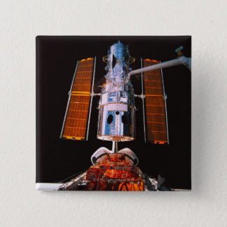 Satellite Docked on Space Shuttle Button