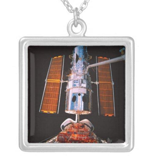 Satellite Docked on Space Shuttle Custom Necklace
