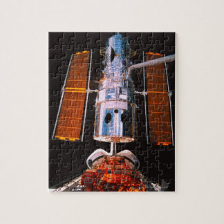 Satellite Docked on Space Shuttle Jigsaw Puzzle