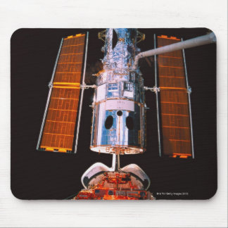 Satellite Docked on Space Shuttle Mouse Pad