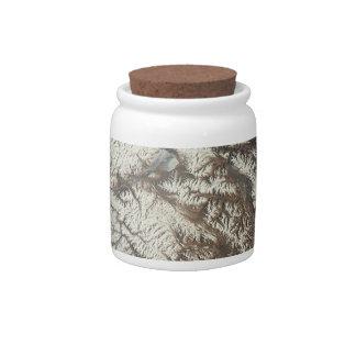 Satellite Image Candy Jar