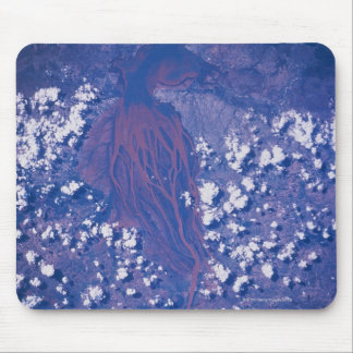 Satellite Image of Earth 2 Mouse Pad