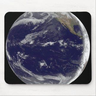 Satellite image of Earth 2 Mousepads