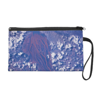 Satellite Image of Earth 2 Wristlet