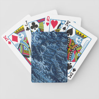 Satellite Image of Earth Bicycle Playing Cards