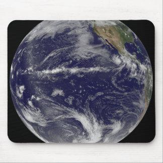 Satellite image of Earth Mousepad