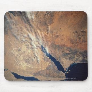 Satellite Image of Land Mousepads