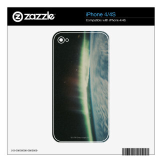 Satellite Image of Northern Lights iPhone 4S Decal