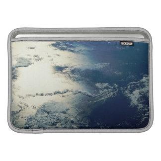 Satellite Image of Sunlight MacBook Sleeves