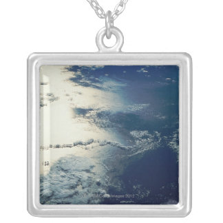 Satellite Image of Sunlight Silver Plated Necklace