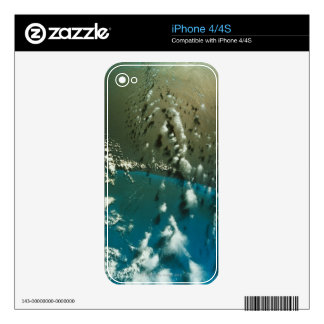 Satellite Image of The Florida Strait Skin For The iPhone 4