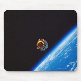 Satellite in Orbit 2 Mouse Pad