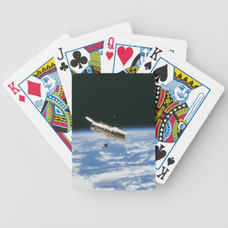 Satellite in Orbit 3 Bicycle Playing Cards