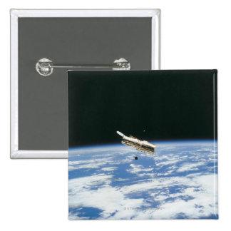 Satellite in Orbit 3 Pinback Button