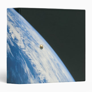 Satellite in Orbit Vinyl Binders