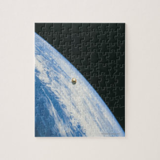 Satellite in Orbit Jigsaw Puzzle