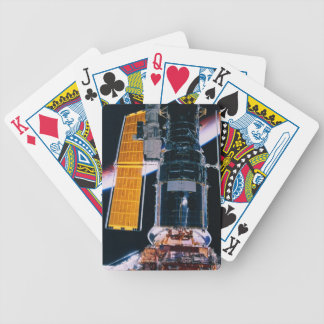 Satellite Launching from Space Shuttle Bicycle Playing Cards
