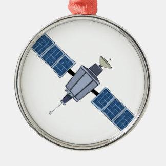 Satellite Metal Ornament