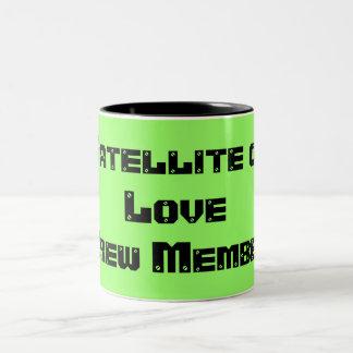Satellite of Love Crew Member Two-Tone Coffee Mug