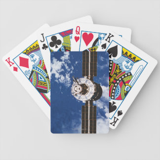 Satellite Orbiting Earth 2 Bicycle Playing Cards