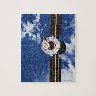 Satellite Orbiting Earth 2 Jigsaw Puzzles