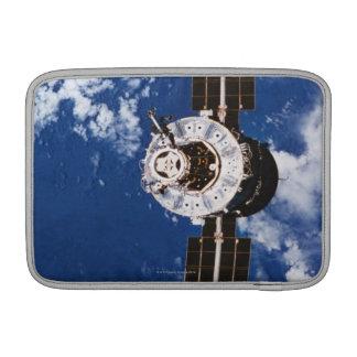 Satellite Orbiting Earth 2 MacBook Air Sleeve