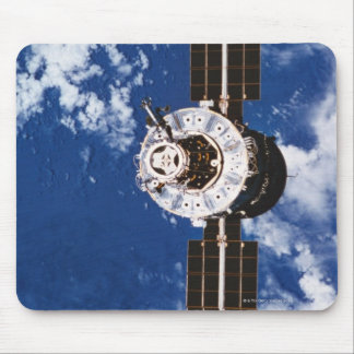 Satellite Orbiting Earth 2 Mouse Pad