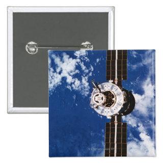 Satellite Orbiting Earth 2 Pinback Button