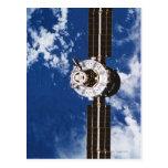 Satellite Orbiting Earth 2 Post Cards