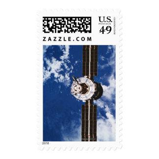 Satellite Orbiting Earth 2 Postage