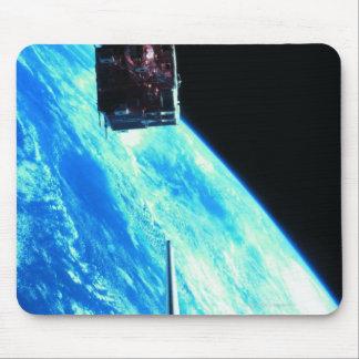 Satellite Orbiting Earth 3 Mousepads