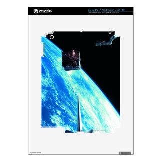 Satellite Orbiting Earth 3 iPad 3 Skins