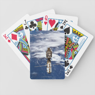 Satellite Orbiting Earth 4 Bicycle Playing Cards