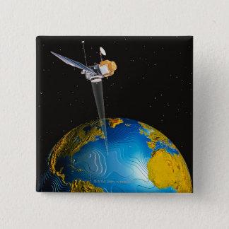 Satellite Orbiting Earth 6 Button