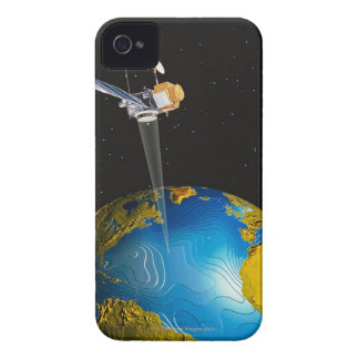 Satellite Orbiting Earth 6 Case-Mate iPhone 4 Case