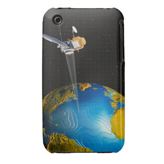 Satellite Orbiting Earth 6 iPhone 3 Case