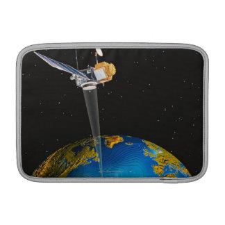 Satellite Orbiting Earth 6 MacBook Air Sleeve