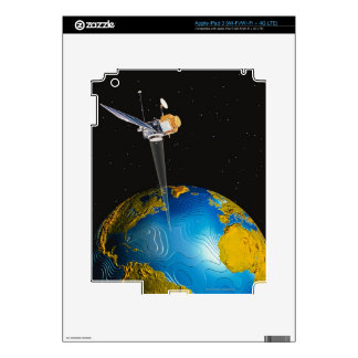 Satellite Orbiting Earth 6 Skins For iPad 3