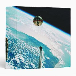 Satellite Orbiting Earth 7 Vinyl Binders
